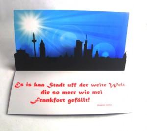 Mailing Pop up Würfel 1