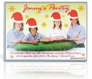 individuelle Weihnachtsartikel Schokoladenadventskalender